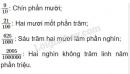 Bài 1 trang 8 SGK Toán 5