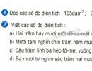 Bài 1, 2 trang 26 sgk toán 5