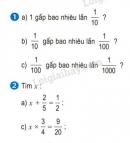 Bài 1, 2 trang 32 SGK Toán 5