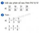 Bài 1, 2 trang 31 (luyện tập chung) sgk Toán 5