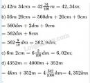 Bài 1 trang 47 (luyện tập chung) sgk Toán 5