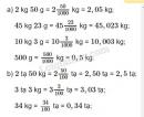 Bài 2 trang 46 SGK Toán 5
