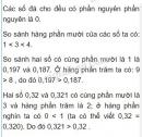 Bài 3 trang 42 sgk Toán 5