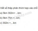 Bài 3 trang 44 sgk Toán 5