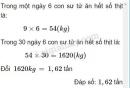 Bài 3 trang 46 SGK Toán 5