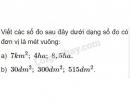 Bài 3 trang 47 (luyện tập chung) sgk Toán 5
