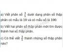 Bài 4 trang 39 SGK Toán 5