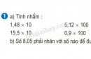 Bài 1 trang 58 SGK Toán 5