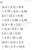 Bài 1 trang 61 (Luyện tập) SGK Toán 5