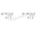 Bài 1 trang 70 SGK Toán 5