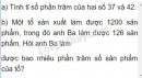 Bài 1 trang 79 (Luyện tập) SGK Toán 5