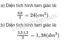 Bài 1 trang 88 SGK toán 5