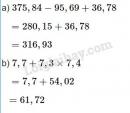 Bài 1 trang 62 Tiết 30 sgk Toán 5