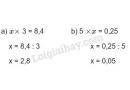 Bài 2 trang 64 (Chia một số thập phân cho một số tự nhiên) SGK Toán 5