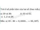 Bài 2 trang 75 Tiết 43  sgk Toán 5