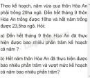 Bài 2 trang 76 Tiết 44 sgk Toán 5