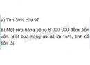 Bài 2 trang 79 (Luyện tập) SGK Toán 5