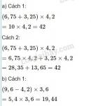Bài 2 trang 62 Tiết 30 sgk Toán 5