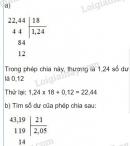 Bài 2 trang 64 Tiết 32 sgk Toán 5