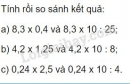 Bài 2 trang 68 Tiết 35 sgk Toán 5