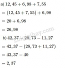 Bài 3 trang 55 SGK Toán 5