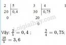 Bài 3 trang 68 SGK Toán 5