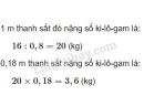 Bài 3 trang 70 SGK Toán 5