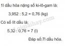 Bài 3 trang 72 (Luyện tập) SGK Toán 5