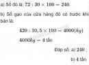 Bài 3 trang 79 (Luyện tập) SGK Toán 5