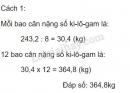 Bài 4 trang 65 sgk Toán 5