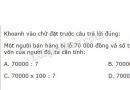 Bài 4 trang 80 Tiết 49 sgk Toán 5