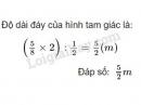 Bài 1 trang 106 SGK toán 5 luyện tập chung