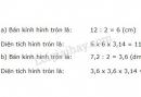 Bài 2 trang 100 (Diện tích hình tròn) SGK Toán 5