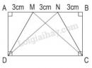 Bài 3 trang 94 SGK toán 5 luyện tập về hình thang