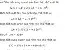 Bài 1 trang 113 SGK toán 5 luyện tập chung