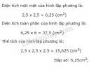 Bài 1 trang 123 sgk toán 5