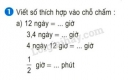 Bài 1 trang 134 sgk toán 5