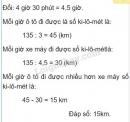 Bài 1 trang 144 (Luyện tập chung) SGK Toán 5