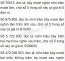 Bài 1 trang 147 SGK Toán 5