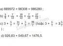 Bài 1 trang 158 SGK Toán 5