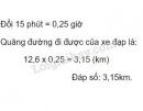 Bài 2 trang 141 (Quãng đường) SGK Toán 5