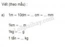Bài 2 trang 152 SGK Toán 5