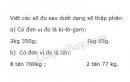 Bài 2 trang 153 sgk toán 5