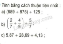 Bài 2 trang 158 sgk toán 5