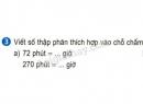 Bài 3 trang 131 sgk toán 5