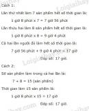 Bài 3 trang 137 sgk toán 5 luyện tập