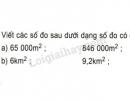 Bài 3 trang 154 SGK Toán 5