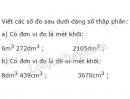 Bài 3 trang 155 SGK Toán 5