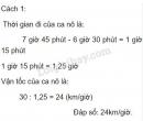 Bài 4 trang 140 SGK Toán 5
