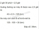 Bài 4 trang 145 SGK Toán 5